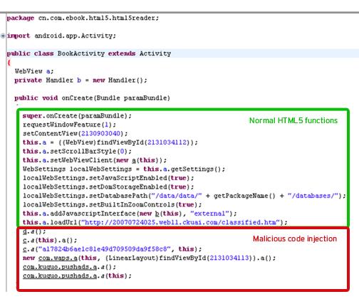 看我七十二变:HTML5游戏重打包变身安卓恶意软件