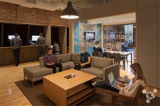 Airbnb总部: 家一样的办公室 坐着躺着都随你
