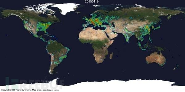 世界大战尽在掌控:盘点全球网络攻击实时追踪系统