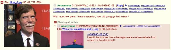 专访4chan创始人:我是世界上最孤独的网络管理员