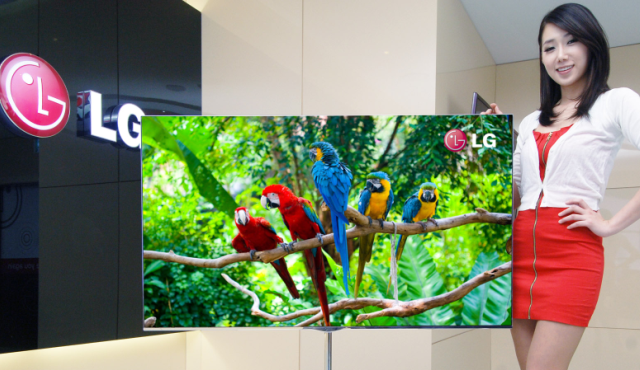LG推出可贴在墙上的OLED电视