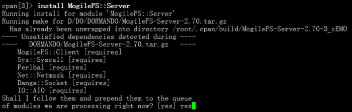 MogileFS系统简单配置实例