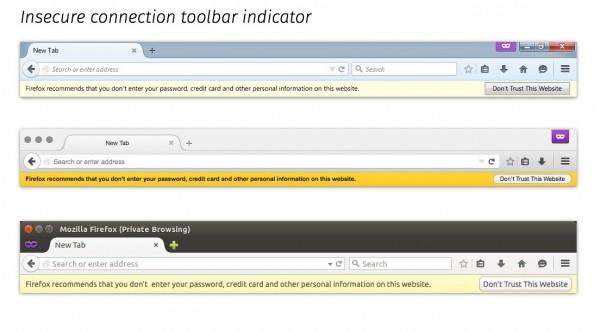 Firefox 44浏览器内建更好的SSL错误指示器