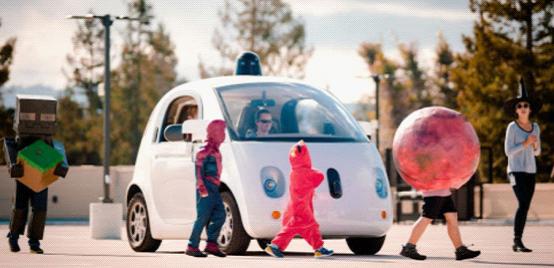 谷歌正训练无人驾驶汽车如何避让小孩