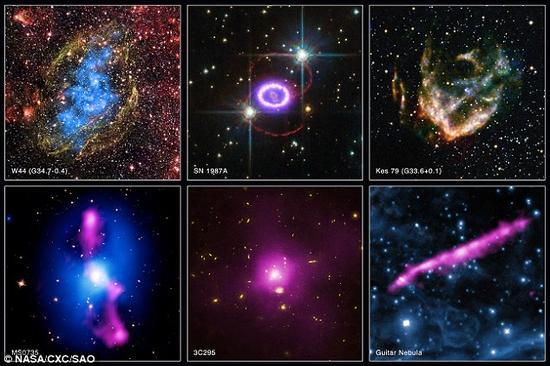 最强烈宇宙爆炸事件回顾:摧毁整个星系团
