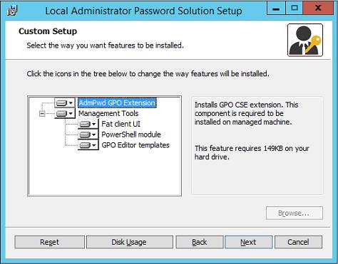 域渗透——Local Administrator Password Solution