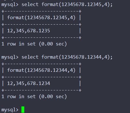 MySQL好用的数学函数