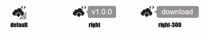 HTML5 SVG混合图标动画特效插件