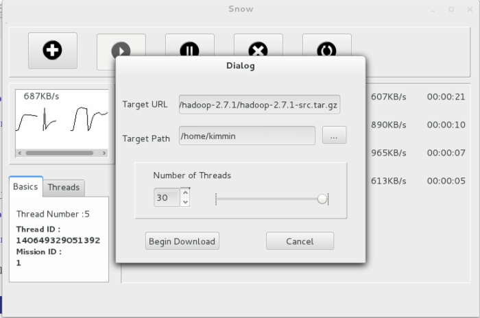 <基于Qt与POSIX线程>多线程下载器的简易搭建