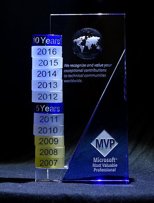 MVP十年有感