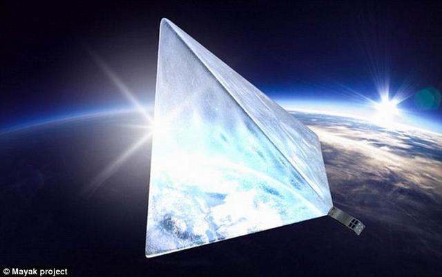 """俄罗斯众筹""""灯塔卫星""""将反射阳光照亮地球"""