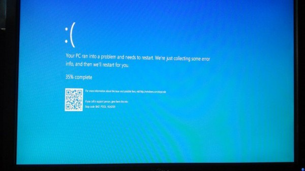 Windows 10蓝屏死机新增QR码:可助用户快速获取解决方案