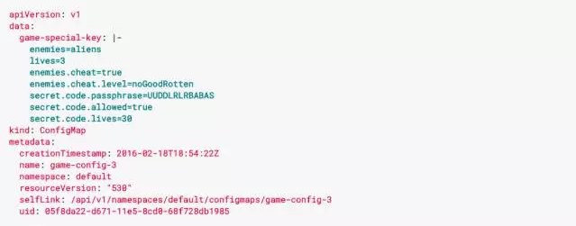 Kubernetes 1.2 新功能解析:ConfigMap (中)