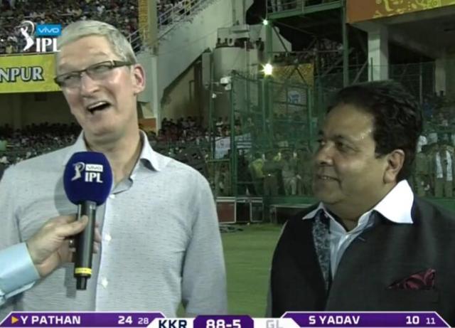 苹果CEO库克造访印度 用三句话概括个人成功秘诀
