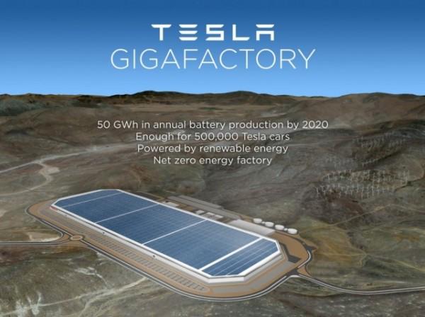 特斯拉Gigafactory电池厂7月29日举行开业典礼