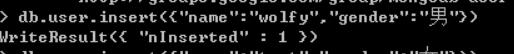 [MongoDB]入门操作