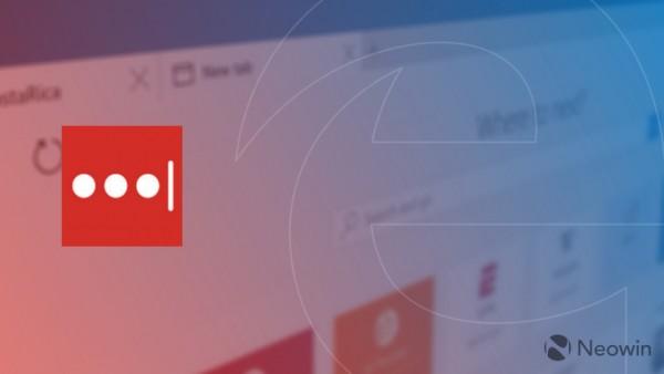 Windows 10 Build 14361的Edge浏览器加入LastPass扩展