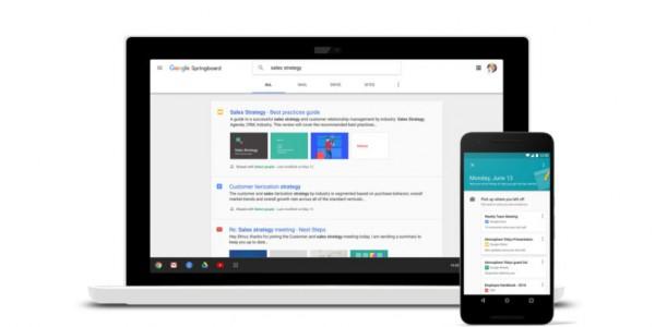 谷歌面向企业用户推出全新软件搜索工具Springboard