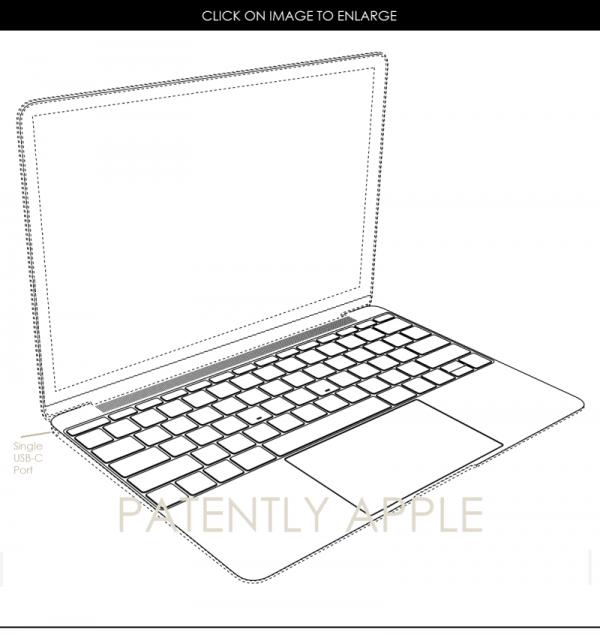 苹果获得第二项MacBook外观设计专利 AirPods商标曝光