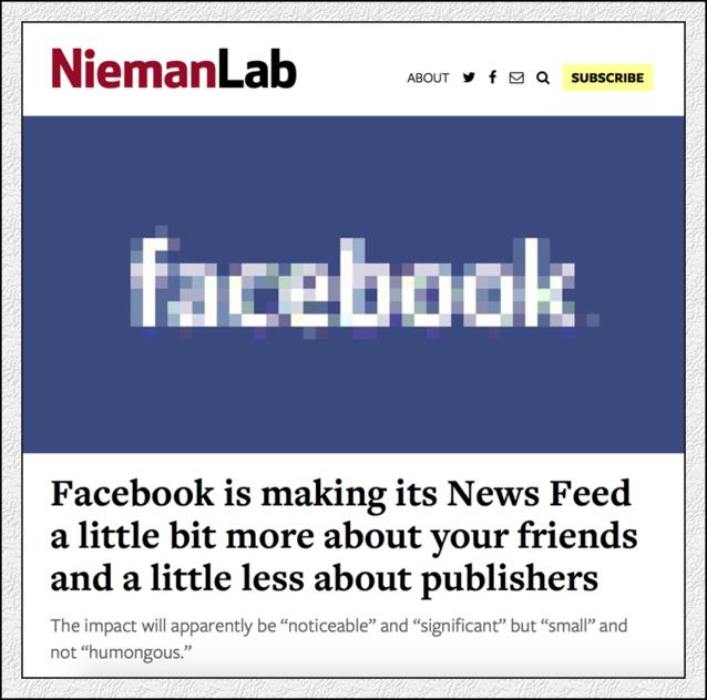 平台 vs 媒体:为什么Facebook总让内容提供商受伤?