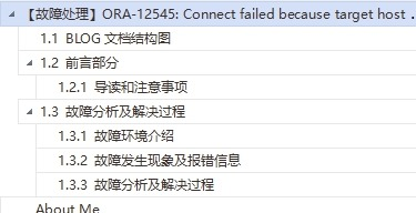 【故障处理】ORA-12545: Connect failed because target host