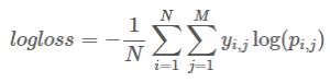 分类问题的常用度量方式以及具体实现