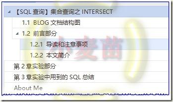 【SQL查询】集合查询之INTERSECT