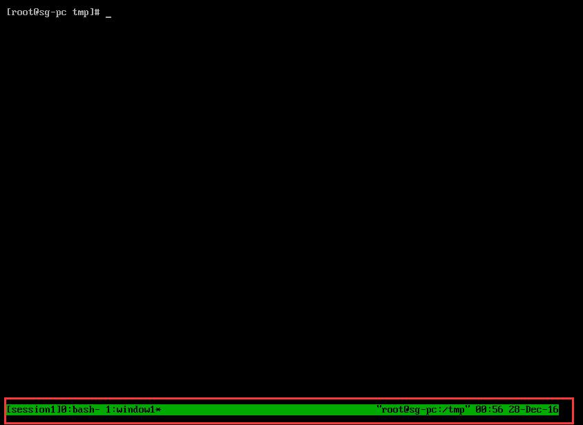 Linux基础之Tmux使用姿势