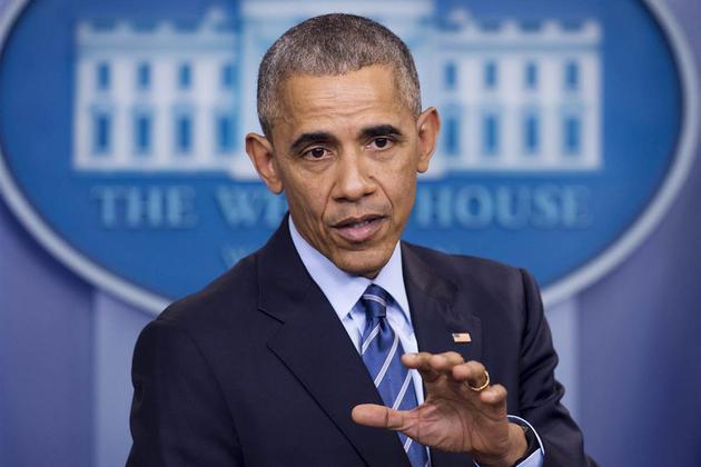 奥巴马宣称俄罗斯网络攻击干预大选 采取制裁措施