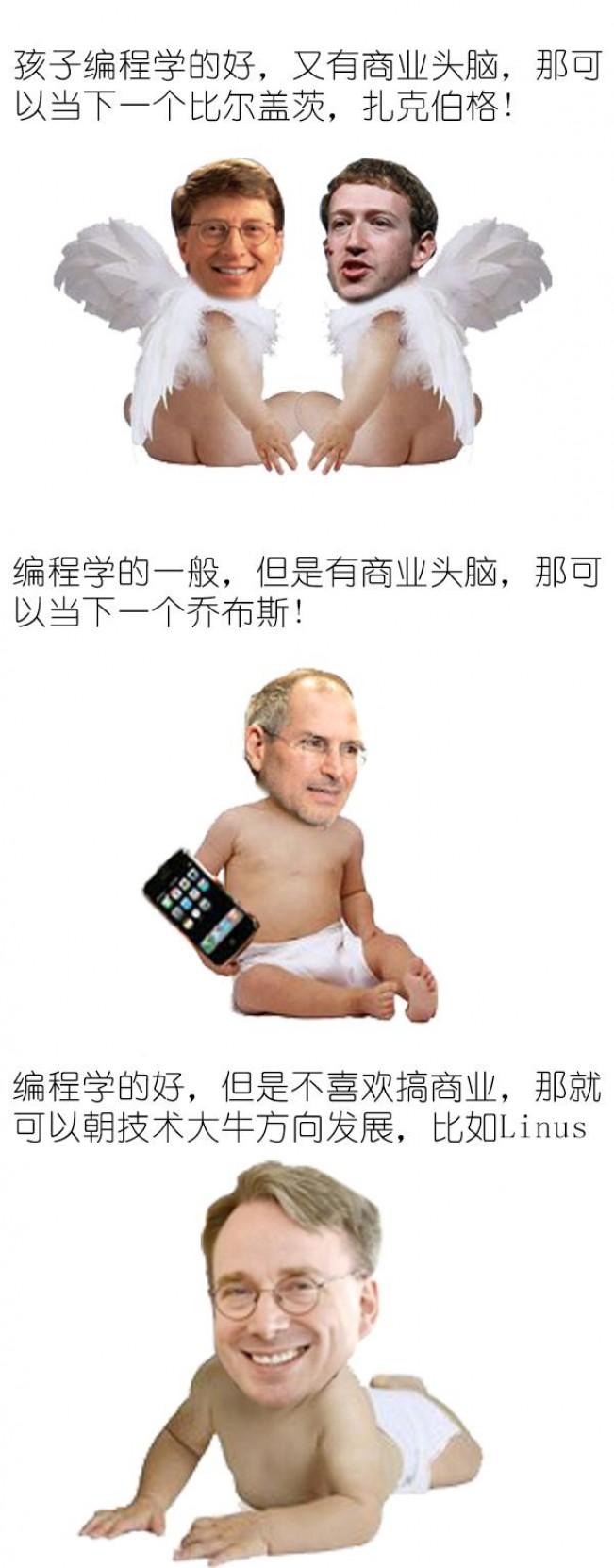 让你的孩子成为下一个扎克伯格:程序员们,编程要从娃娃抓起!