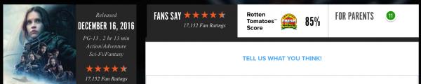 在美国,人们是怎么给电影评分的?
