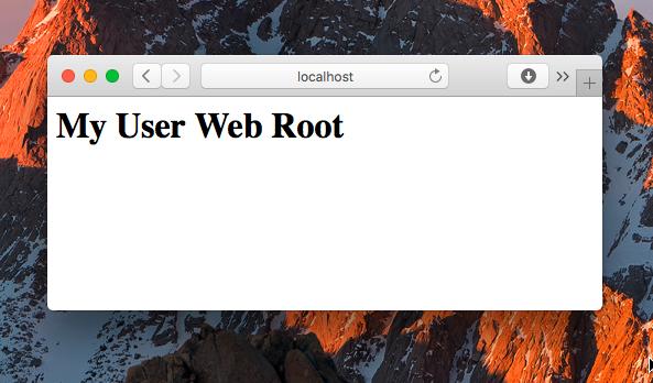 macOS Sierra Apache Multiple PHP versions