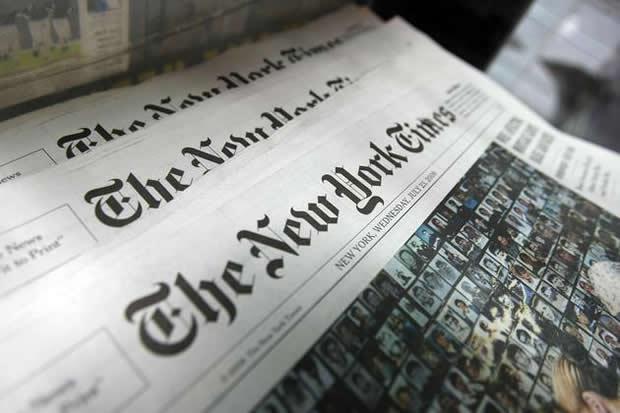 《纽约时报》在Facebook做直播:目前累计浏览量已过亿