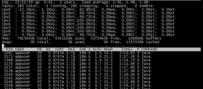 Linux内核版本引起系统负载load值异常的问题