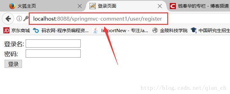Spring MVC 的常用注解