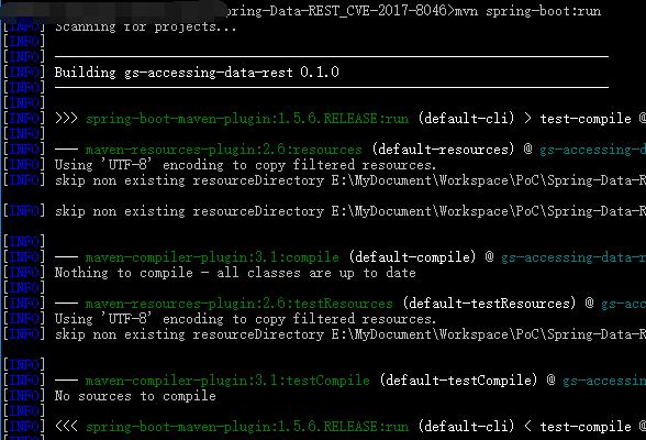 Spring Data REST 远程代码执行漏洞(CVE-2017-8046)分析与复现