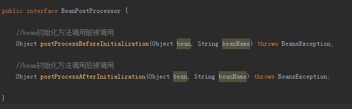 Spring 探秘,妙用 BeanPostProcessor