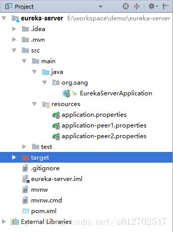 使用Spring Cloud搭建高可用服务注册中心