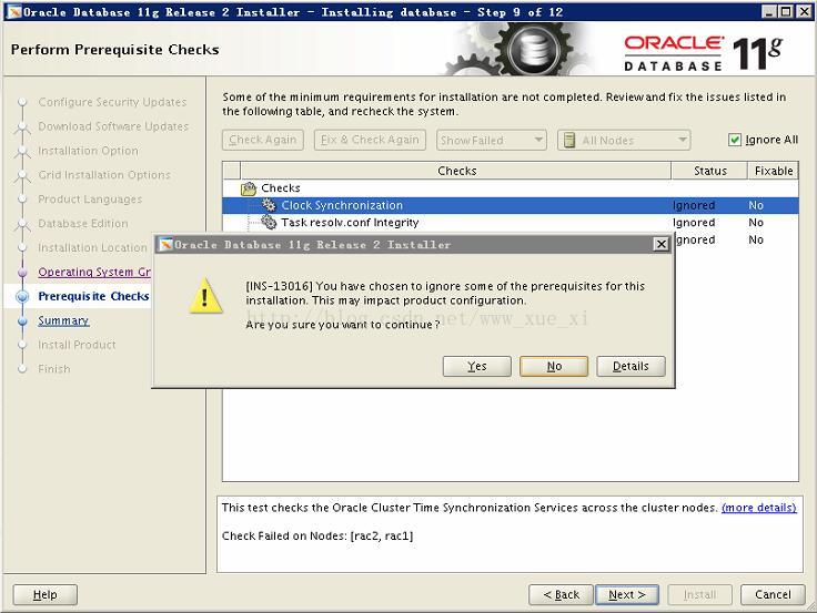 oracle 11.2.0.4 rac for rhel 6.8 installation