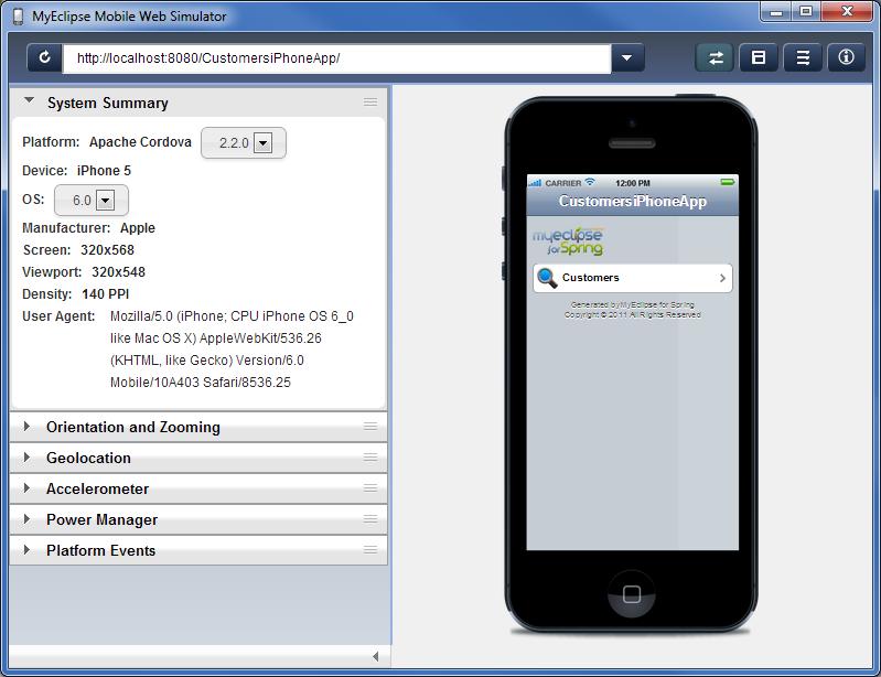 用Spring创建iPhone App