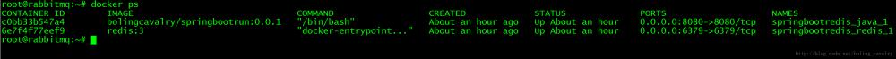 Docker下redis与springboot三部曲之一:极速体验