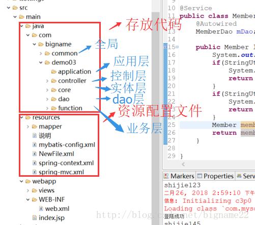 Maven整合SSM框架(maven+spring+springmvc+mybatis)
