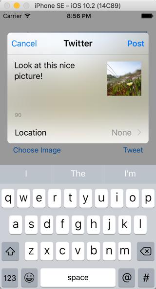 Twitter iOS 教程