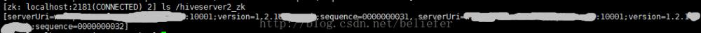 Spark1.6.0功能扩展——为HiveThriftServer2增加HA