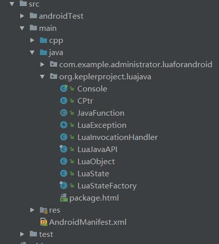 Lua 在 Android 中应用上,如何引入 Lua