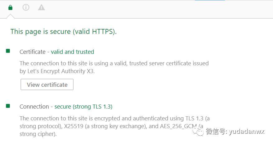 让 Nginx 快速支持 TLS 1.3 协议