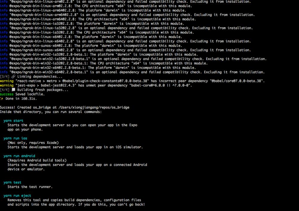 React Native项目真机调试(一)