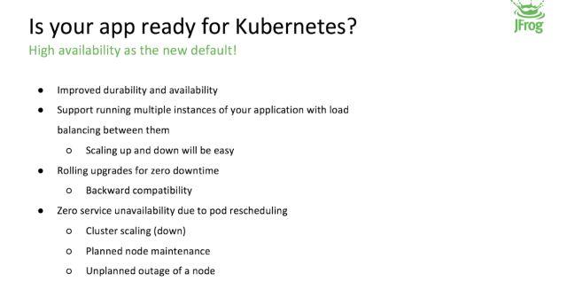 JFrog 内部基于 Kubernetes 的实践