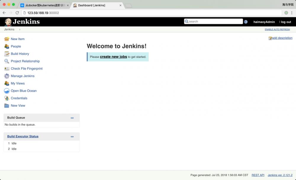 基于 Jenkins 的 CI/CD(一)